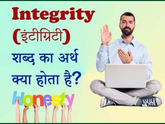 Integrity meaning