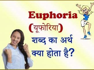 Euphoria Meaning